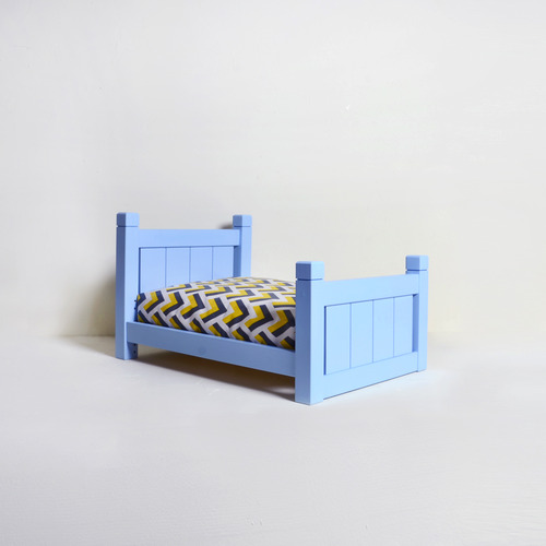 1F Bed - Blue