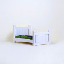 1F Bed - White
